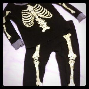 Other - Glow In The Dark Skeleton Pajamas
